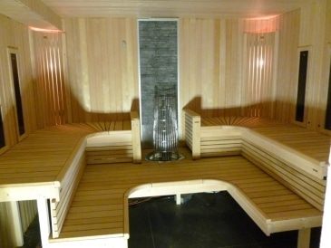Sauna cabine