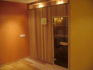 Zelfbouw sauna